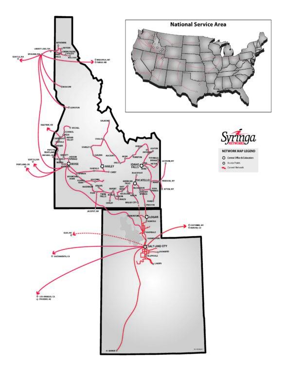 syringa network map