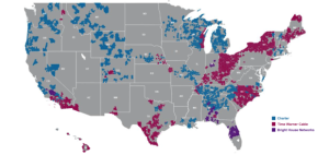 Charter Time Warner Cable Map