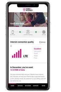 T-Mobile Home Internet app screenshot