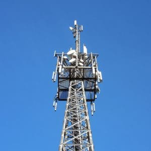 C-band transmission tower