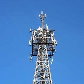 C-band transmission tower