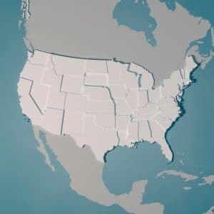 us state map