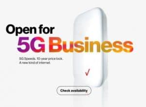 Verizon 5G business