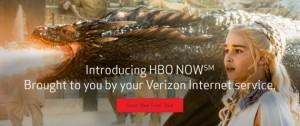 Verizon HBO NOW