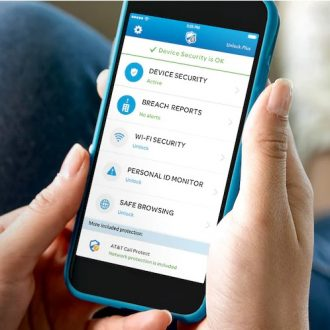 at&t mobile security on smartphone