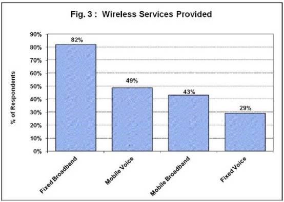 Source: NTCA Rural Wireless Survey Report