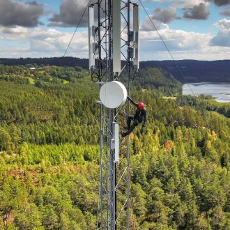 wireless tower climber